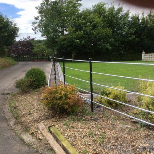Bespoke Iron Garden Railings Northern Ireland