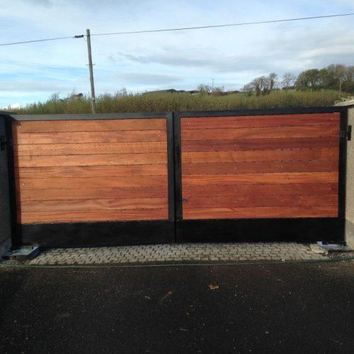 Unique Wooden Gates Dungannon, Coalisland
