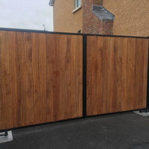 Wooden Automatic Gates Northern Ireland