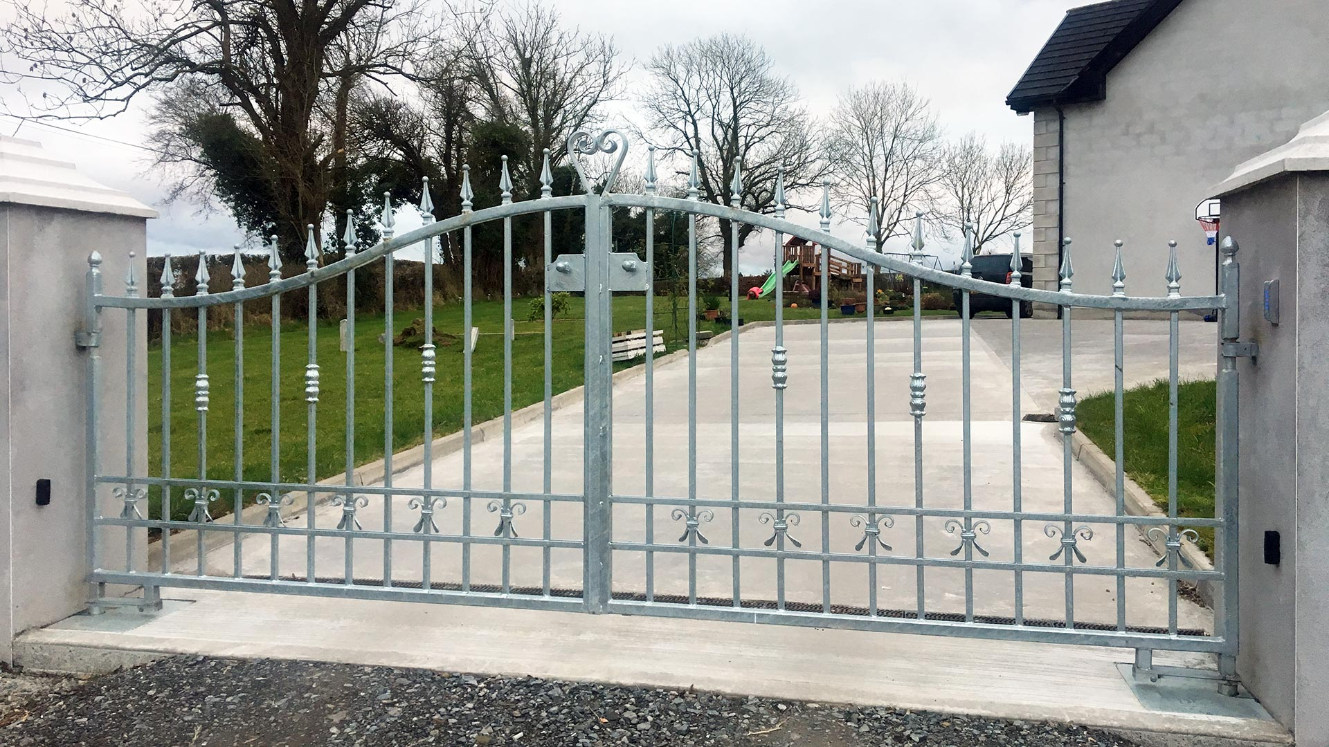 Galvanised Gates Northern Ireland